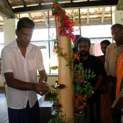 Opening Ceremony of the new building on the Dambana Community Radio