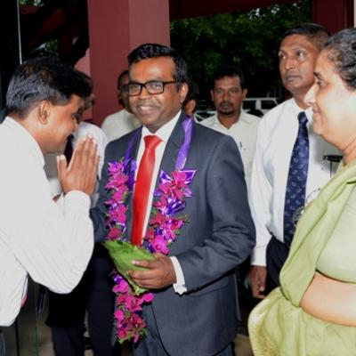 Welcoming of the New Deputy Minister